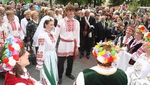 белоресь свадебные традиции