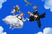парашютная свадьба