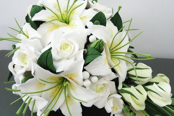 букет лилии