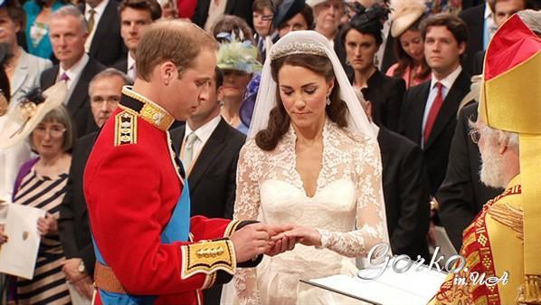 wedding Kate Midlton and William 4