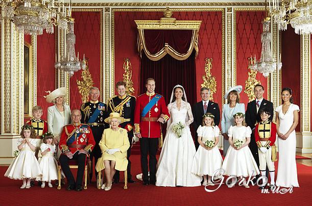 wedding Kate Midlton and William 5