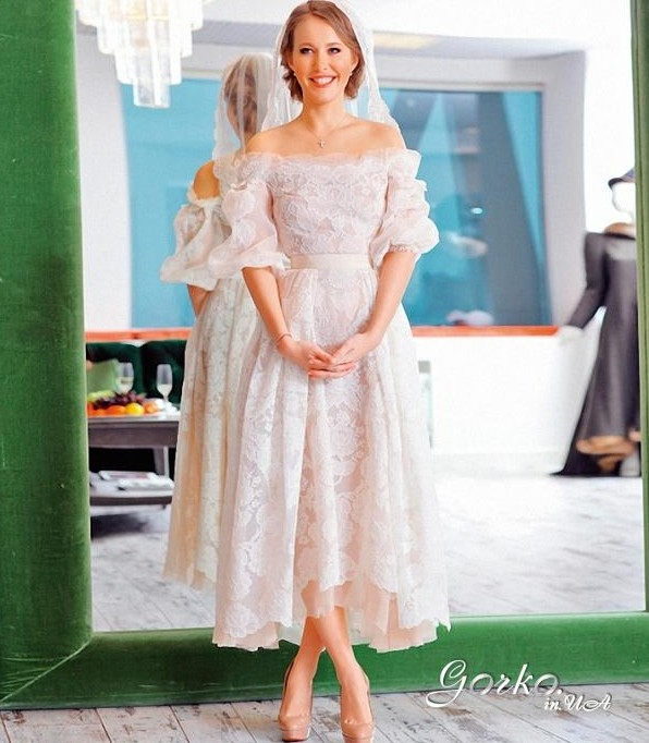 платье собчак